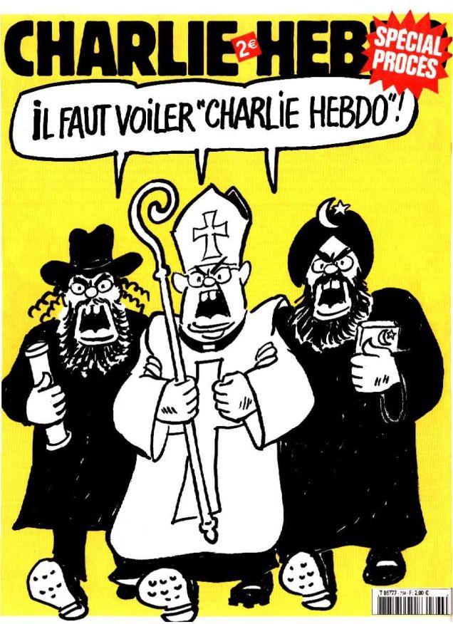 Charlie Hebdo Should Be Veiled